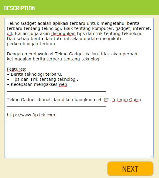 CARA MUDAH MEMBUAT APLIKASI ANDROID UNTUK WEB/BLOG