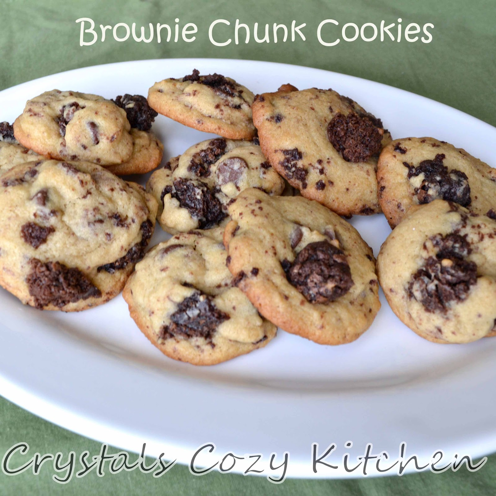 Brownie Chunk And Chocolate Chip Cookies Recipe — Dishmaps