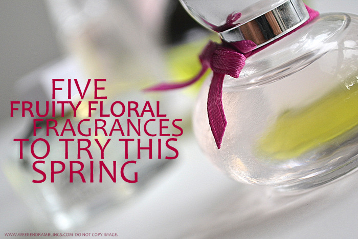 Perfumes for Women Must Have Best Top 5 Fruity Floral Fragrances Blog Picks Reviews For Spring Summer