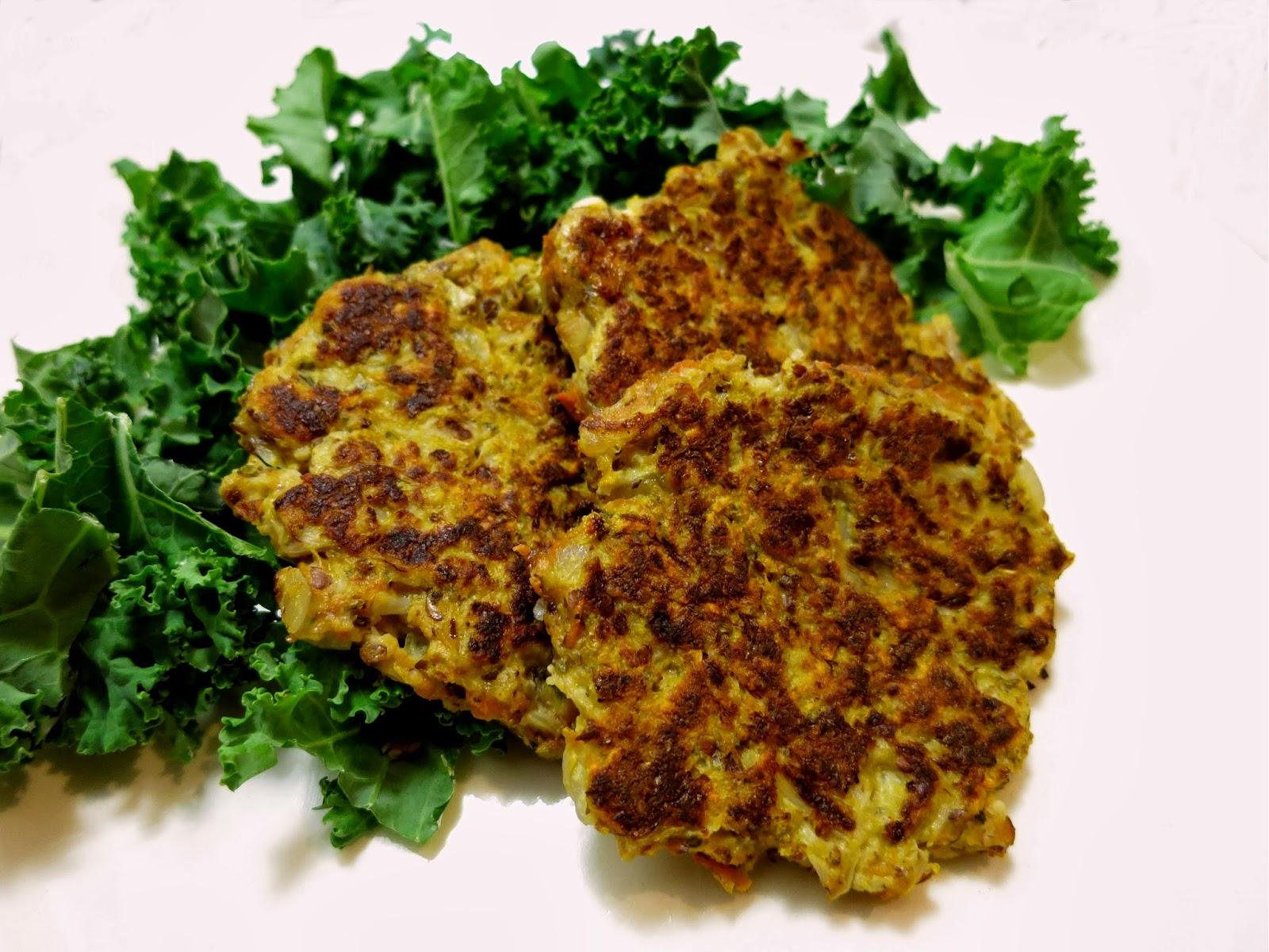 Cauliflower Yam Latkes