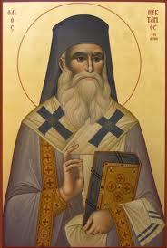 Sf.Ierarh Nectarie-ocrotitorul nostru