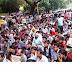 بیٹری رکشہ ہٹائے جا نے  کے فیصلے کے خلاف دہلی میں  مظاہرہ