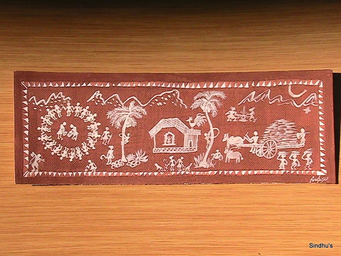 Madhubani and Warli Paintings ( Wall Hangings)