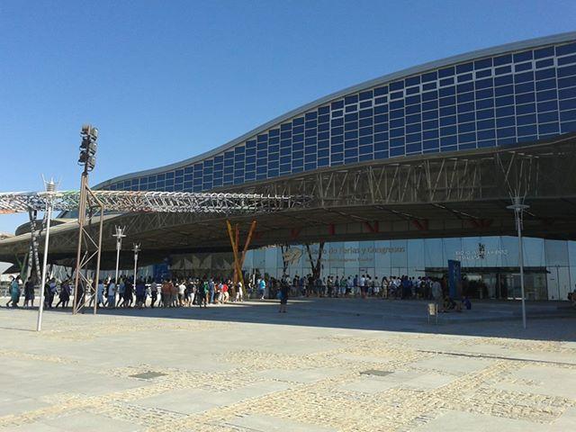 Entrada a Gamepolis Malaga