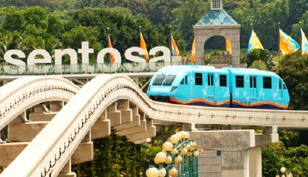 wisata edukasi anak singapore pulau sentosa