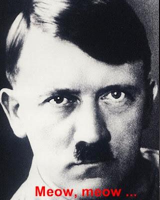 Hitler headshot Meow