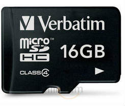 Verbatim 16GB MicroSD card for Rs 369!