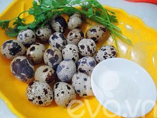 Thơm ngon trứng cút kho tàu