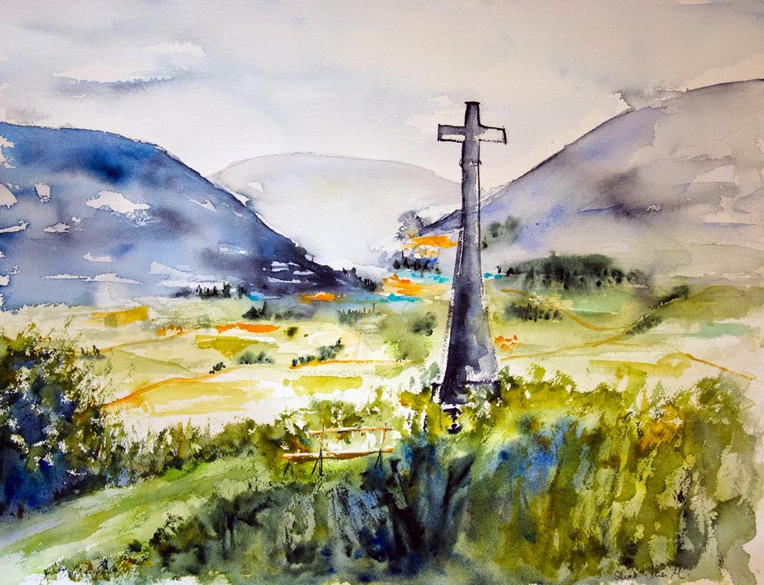 watercolor 46 x 61 cm