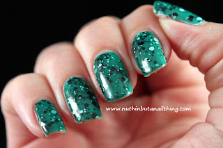 Maybelline Color Show Polka Dots Collection Swatches Rain Forest Canopy