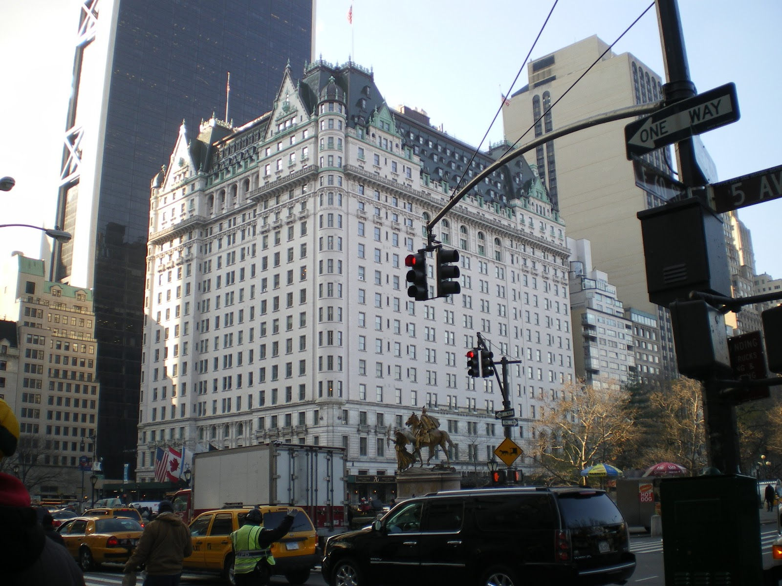 In viaggio per il mondo natale a new york
