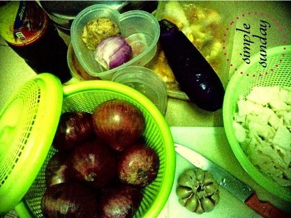 masak, makan