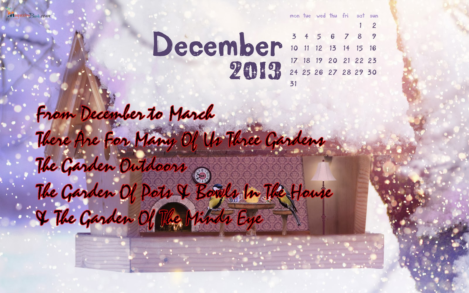 December quotes winter quotes