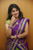 Krishnaveni glam in half saree-thumbnail-15