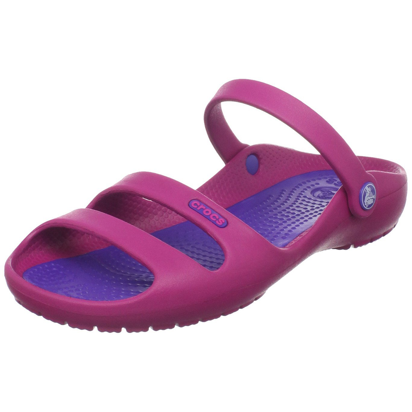 Model Crocs Crocband Sandals In CharcoalOcean For Women  Chachafab