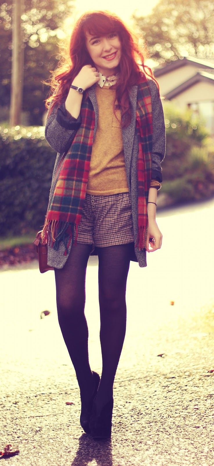 Preppy Autumn Fall Style