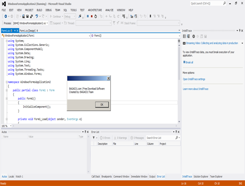visual studio 2012 ultimate with crack
