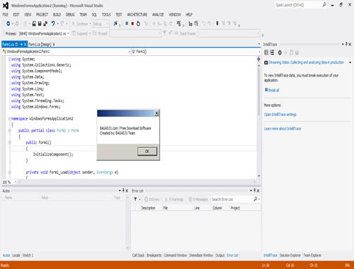 Visual Studio 2012 Ultimate Edition Full Serial 3