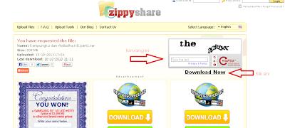 Tutorial Download Zippyshare