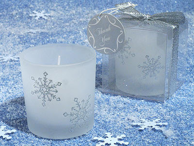 Winter+Wonderland+Frosted+Glass+Votive+Candle