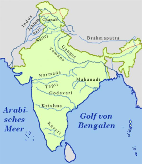 rivers of india The rivers of india are the main source of living of the indian people there are some major rivers in india like, ganga,yamuna, narmada, mahanadi and brahmaputra.