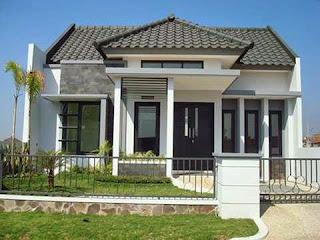 Setiap orang niscaya menginginkan rumahnya tampil lebih indah Model Rumah Minimalis Elegant Dan Menawan