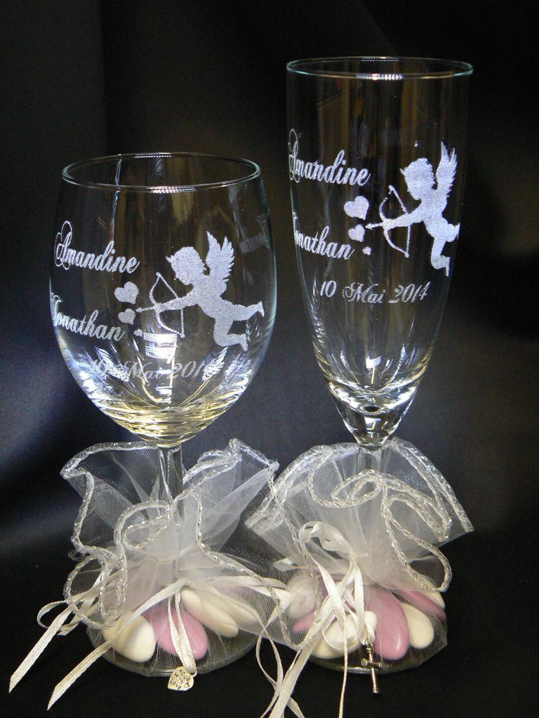 Gravures Sur Verre intérieur gravure sur verre,1.48€ verre gravé,flute gravée,mariage,bapteme