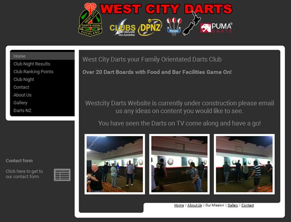 westcitydarts.co.nz