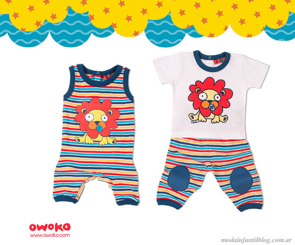 moda infantil verano 2014 owoko bebes