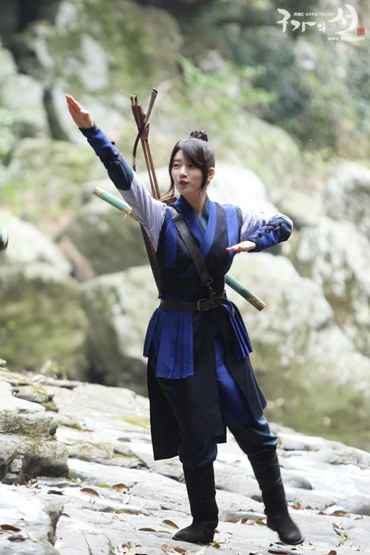 Cheerful Suzy as Dam Yeo Wool Gu Family Book Official Photos
