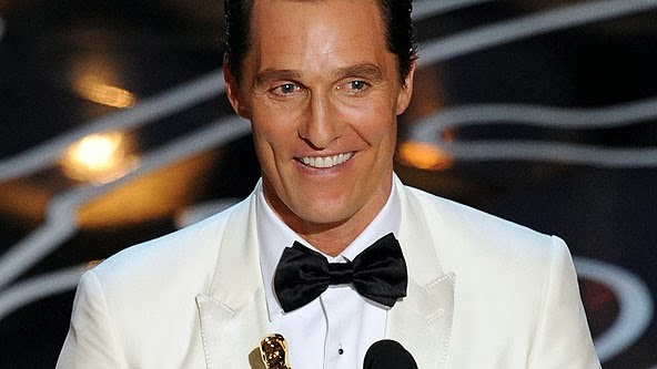 matthew mcconaughey speech at golden globes 2014