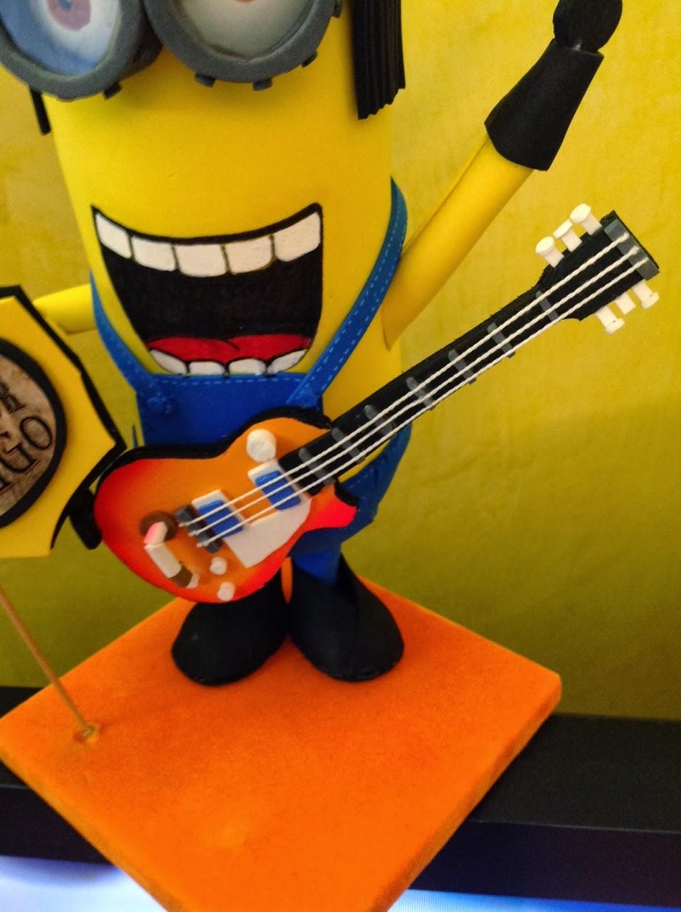 Como hacer una guitarra electrica de goma eva - Imagui