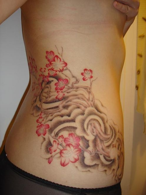 Women Hip Tattoos