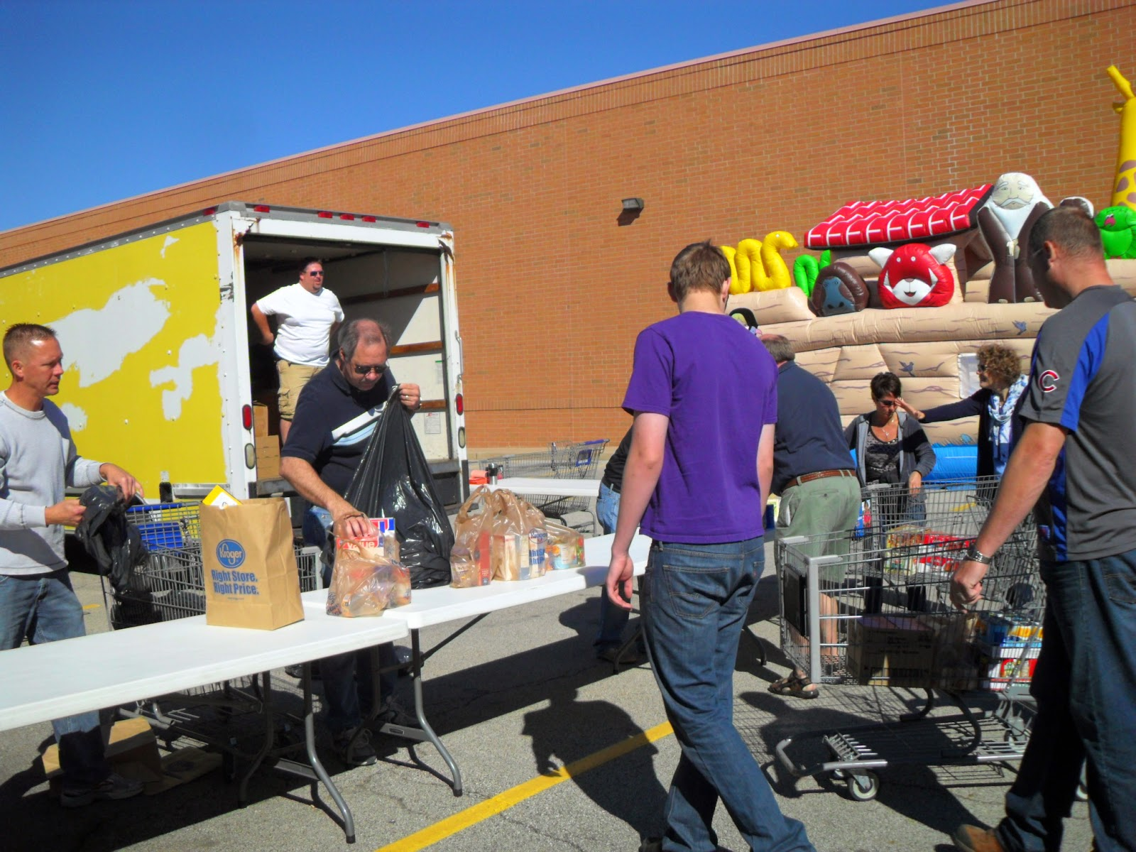 Volunteer at the Central Illinois Food 4All Food Drive on September 20th!