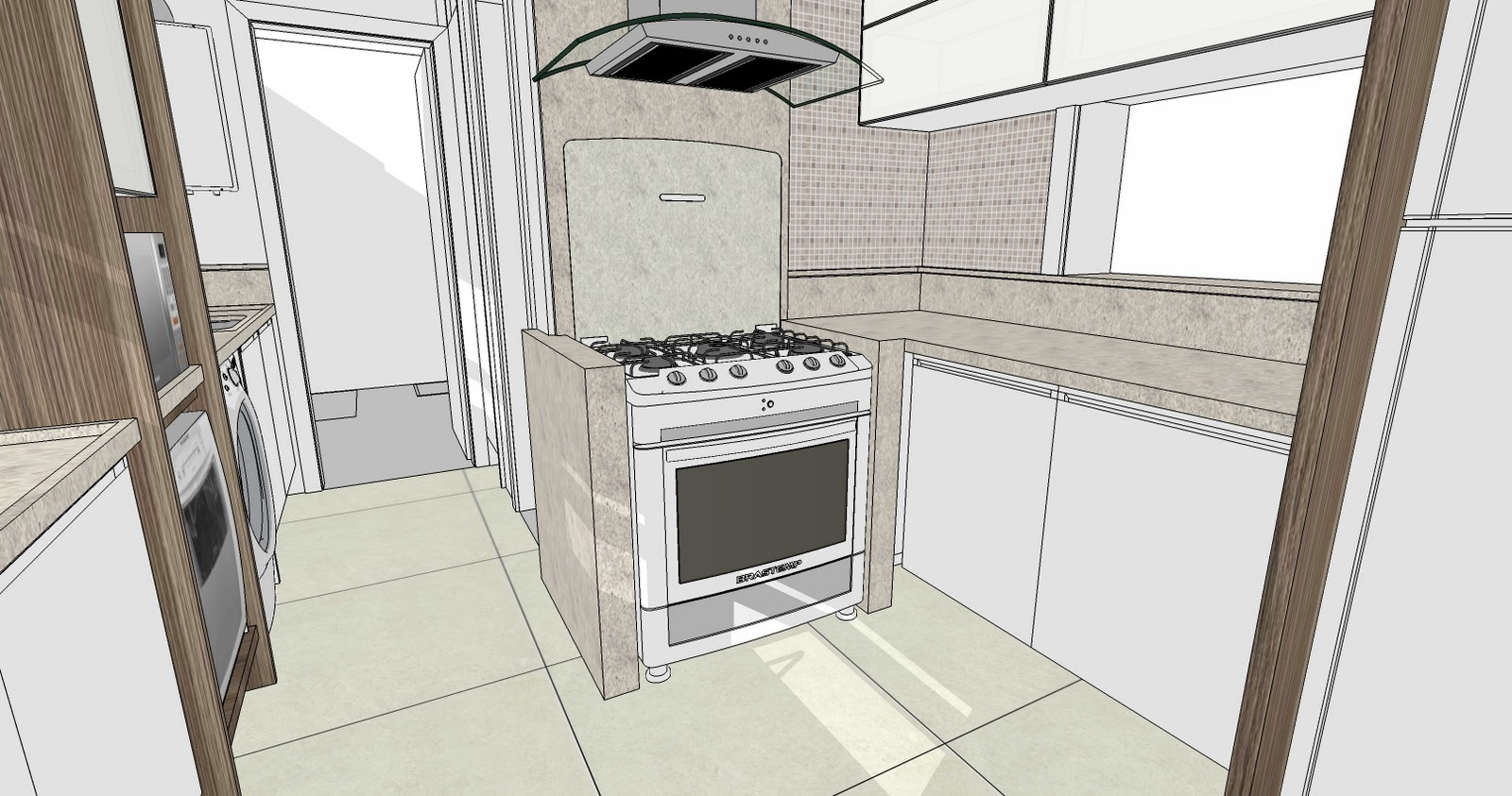 Projetos Cozinha #6F5F4E 1600 843