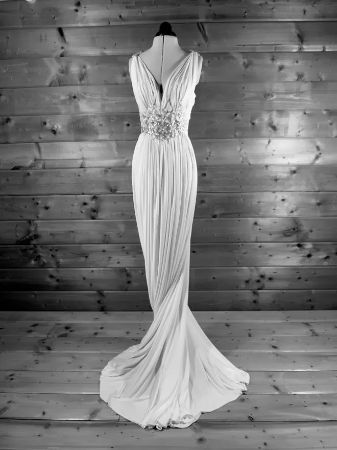 Grecian goddess gown