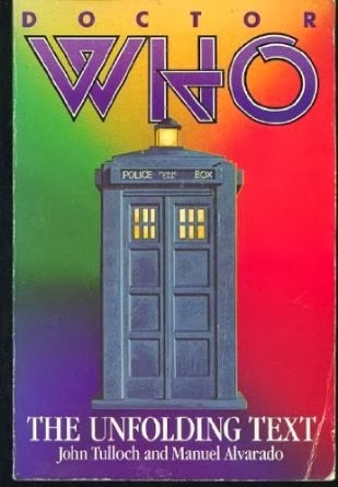 http://www.amazon.co.uk/Doctor-Who-The-Unfolding-Text/dp/0312214804/