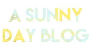 A Sunny Day Blog