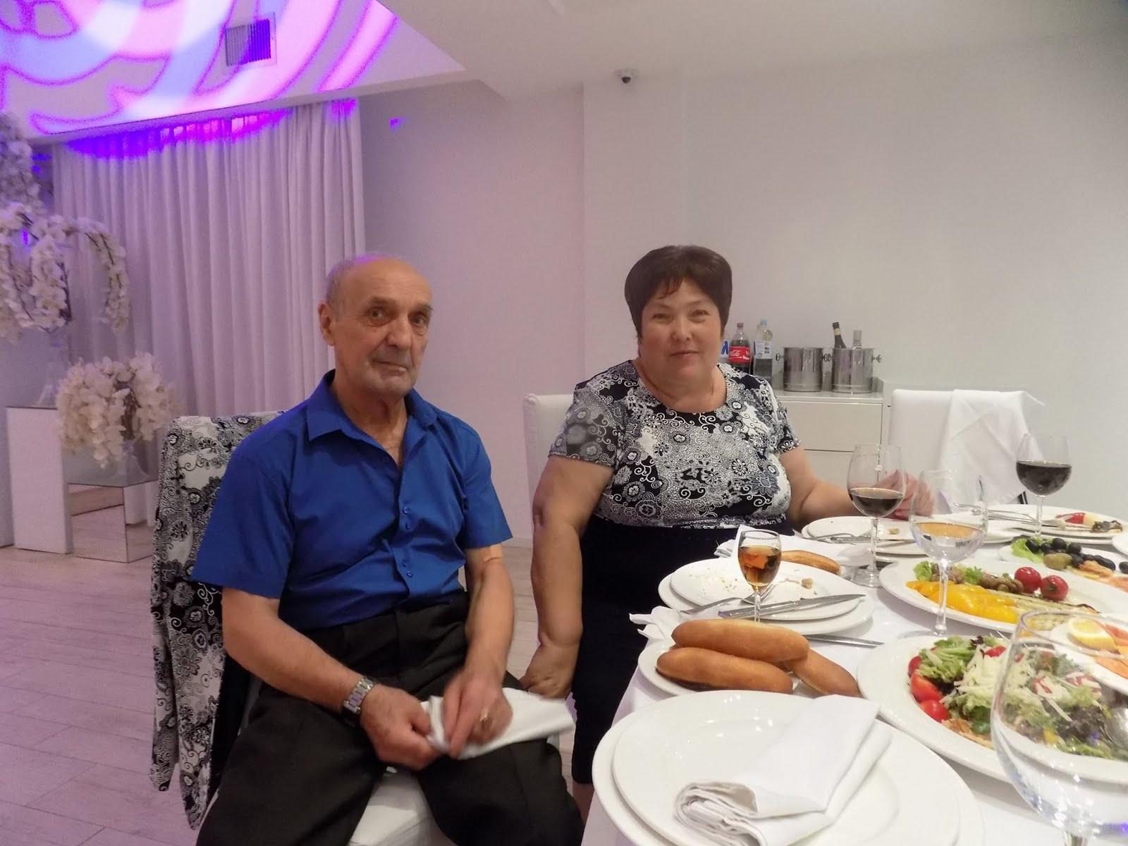 Valentina et Boris Vatav le cousin de mon père Chisinau Moldova 2015