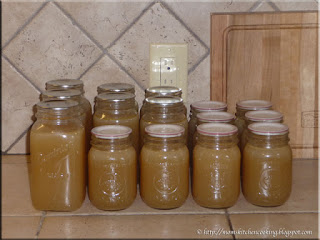 home canned chicken stock