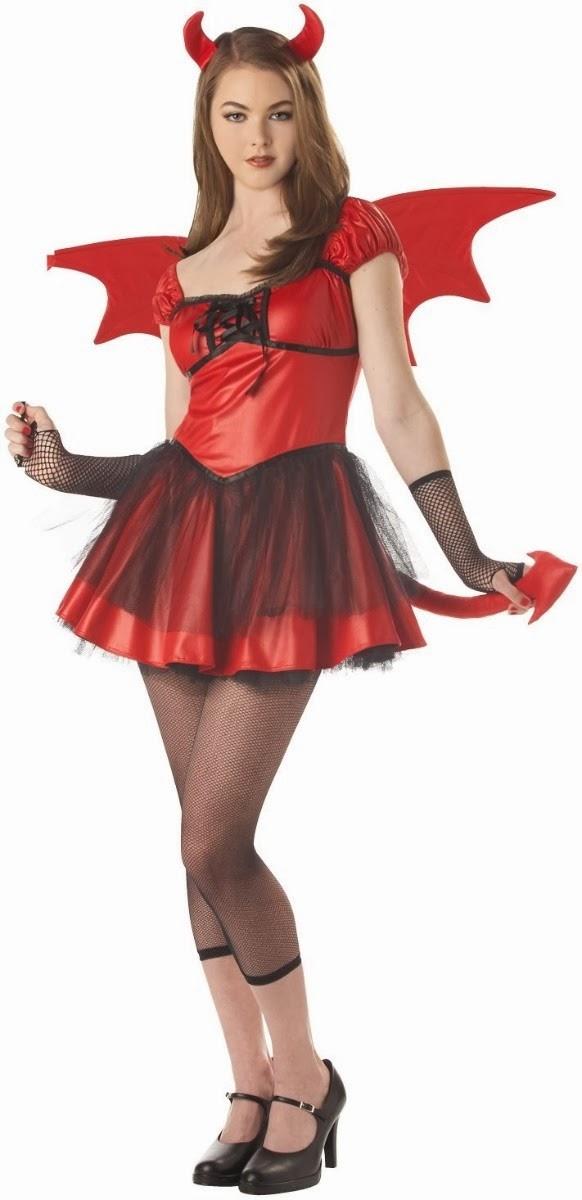 disfraces de halloween para mujer diablas parte