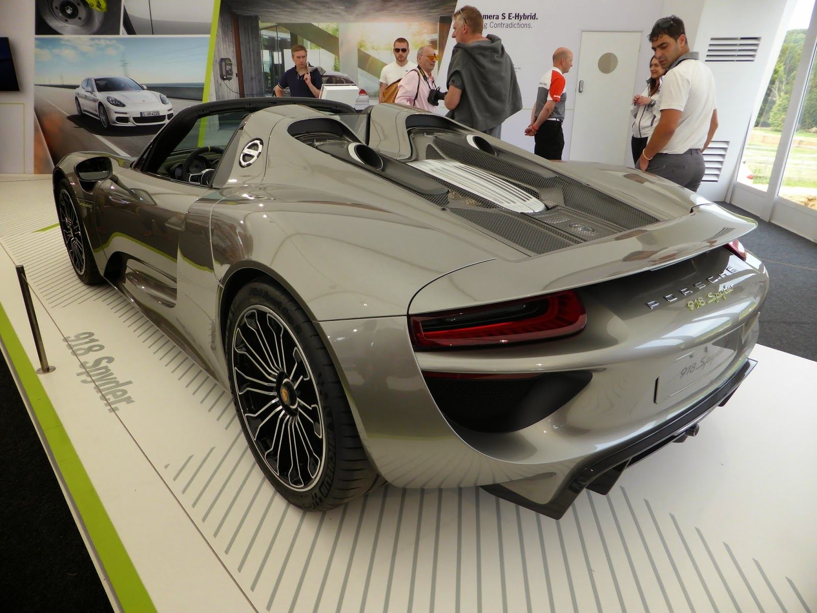 Porsche 918 Spider at Goodwood