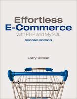 книга Ларри Ульмана «PHP и MySQL: разработка веб-сайтов электронной торговли»(2-е издание)