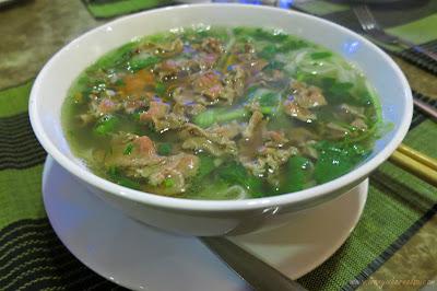 Pho Noodle in Hanoi, Vietnam