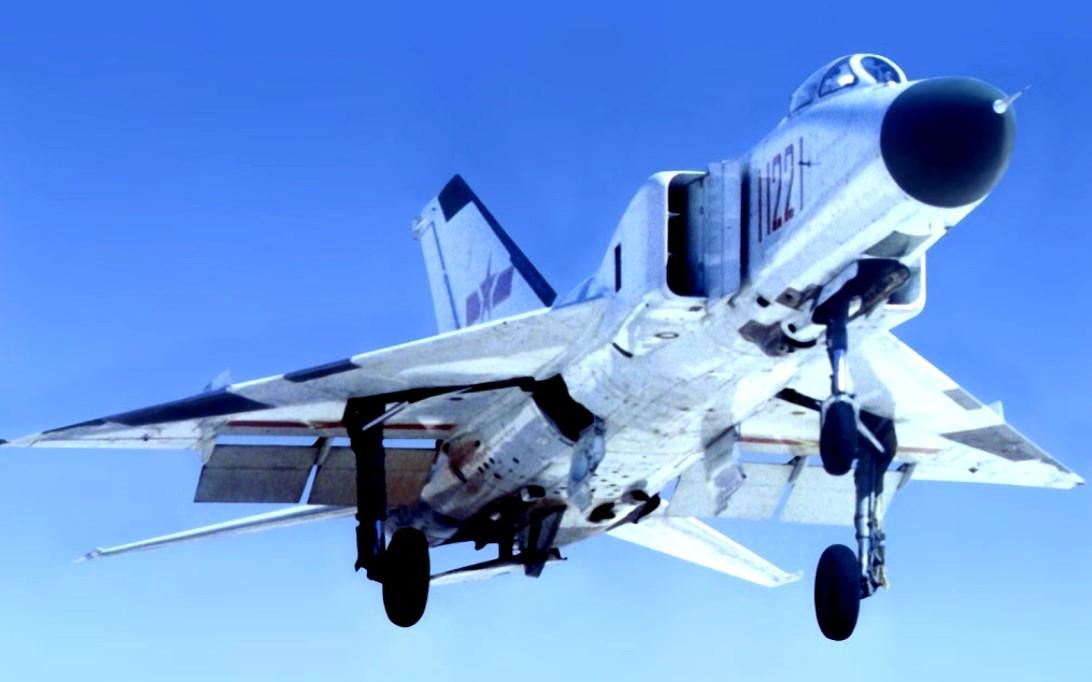 Shenyang J-8 Finback Jet Fighter Wallpaper 1