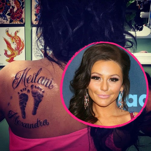 A tattoo for eternity | True Love: JWoww wears daughter on the skin