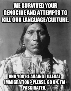 an analysis of genocide the extermination of native americans The native american genocide and the teaching of us history by tanya h lee truthout  knowledgeable analysis of our past that is essential if we are to create a .