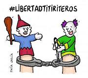 Concentracion Por La Libertad De Los Titiriteros