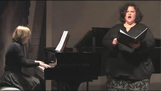 Michael Starke: Entsagung. Uraufführung mit Catherine Winter | Mezzosopran; Marina Palmer | Klavier