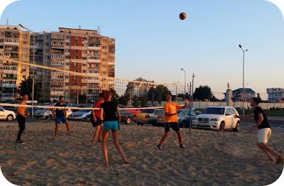 Volei pe nisip cu #craiovabloggers